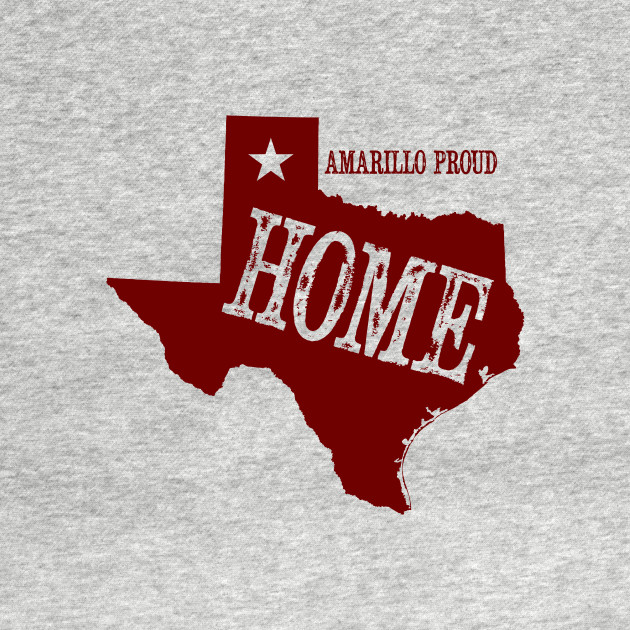 My Home is Amarillo (Red Ink)
