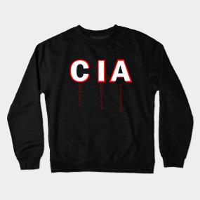 37c9683d86 Cia Crewneck Sweatshirts | TeePublic