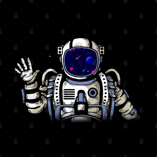 Space Astronaut Hello
