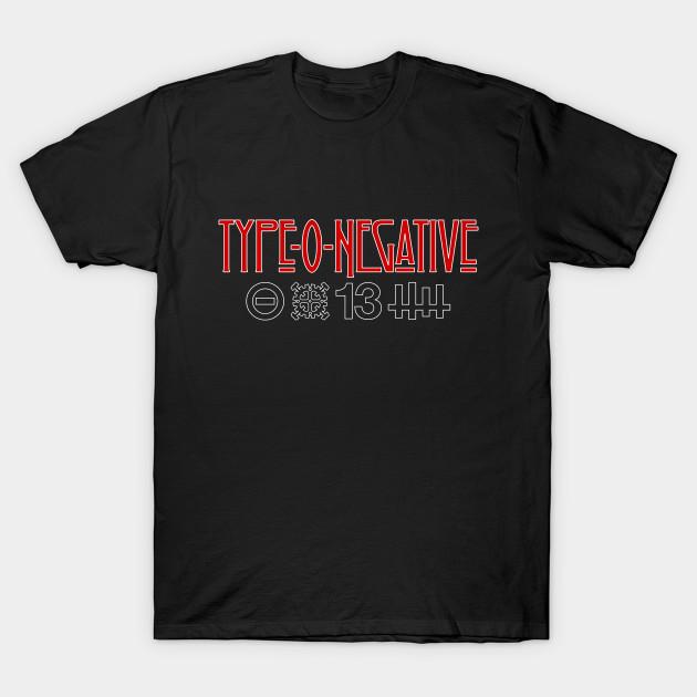 Type O Negative Symbols Type O Negative T Shirt Teepublic