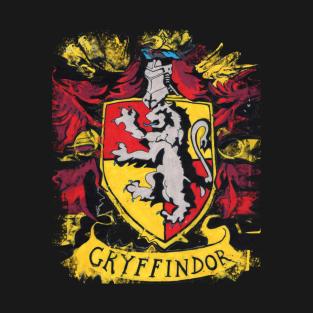 Gryffindor Splatter Crest T Shirt