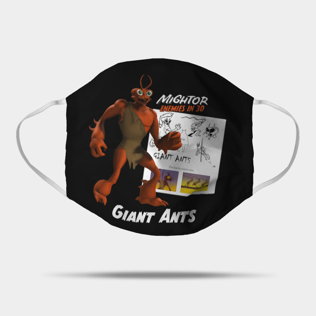 Mighty Mightor Enemies: Giant Ants!