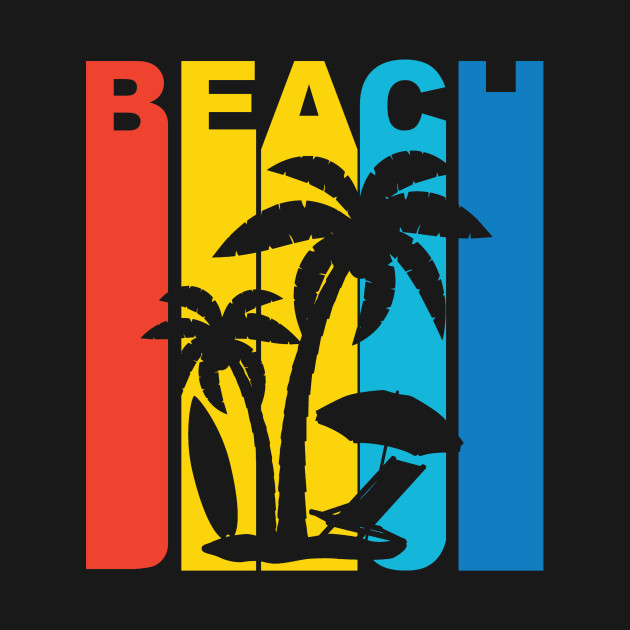 Vintage Beach Graphic