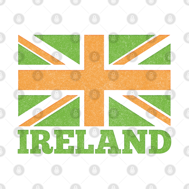 Ireland Flag / Spoof Occupation Parody Design