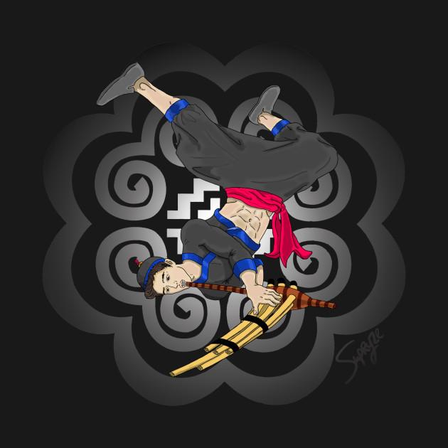 Hmong Qeej Player Tee