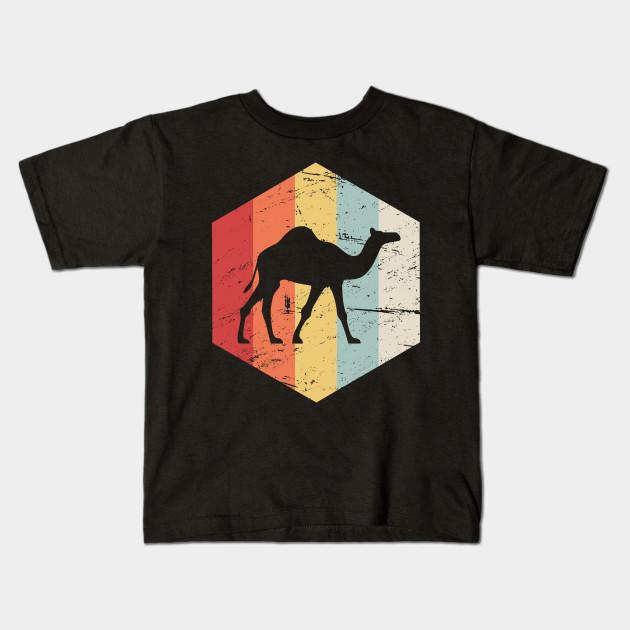 03791230 Retro 70s Camel - Camel - Kids T-Shirt | TeePublic