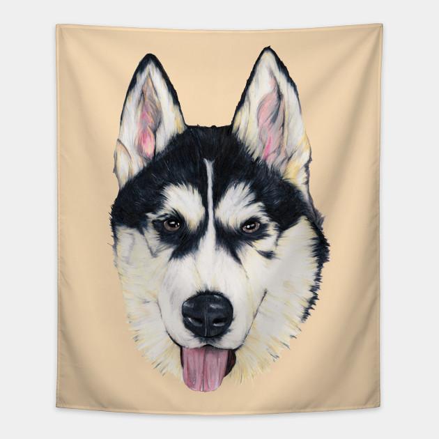 Husky Malamute Tapestry Teepublic
