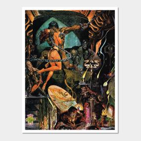 Conan The Barbarian Posters and Art Prints | TeePublic