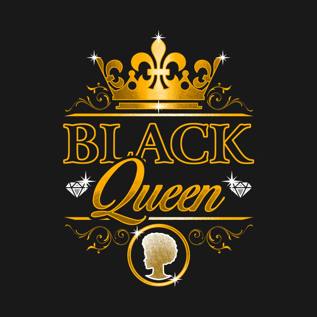 Black Queen Black Pride Design Equal Human Rights T Shirt