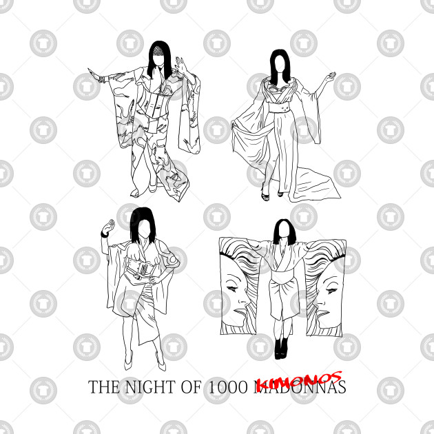 The Night of 1000 Madonnas (Kimonos)