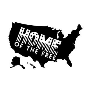 United States Map TShirts TeePublic - Us map logo