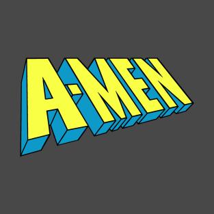 A-Men jesus t-shirts