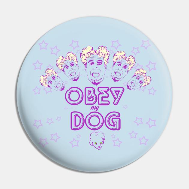 Obey My Dog Adult Crewneck Sweatshirt Zoolander