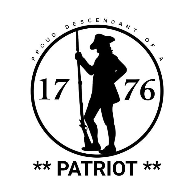 Proud Descendant of a Patriot