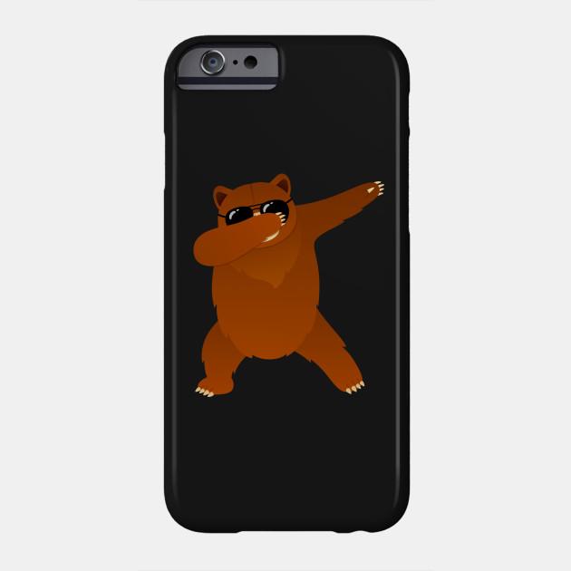 Bear With Sunglasses Dabbing