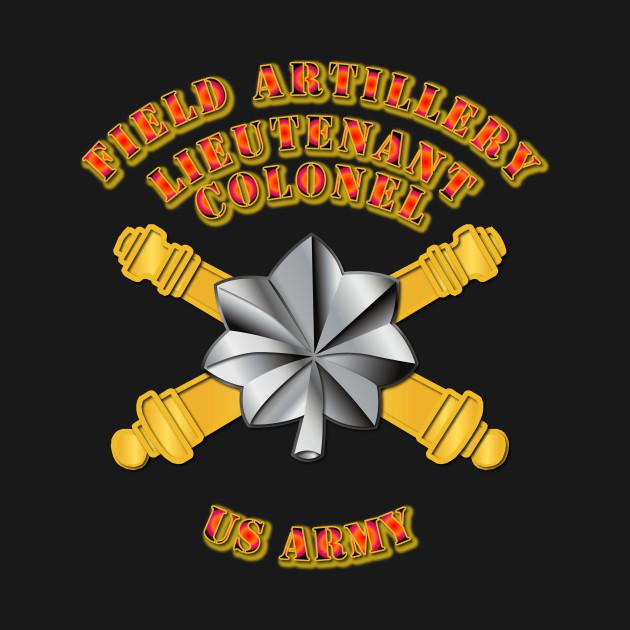 Artillery Officer Lieutenant Colonel Artillery Officer