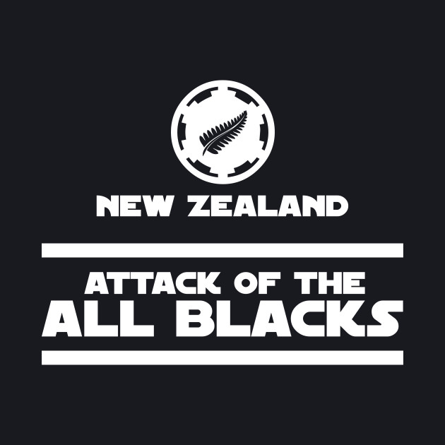 New Zealand Rugby - Attack Of The All Blacks