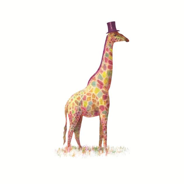 Fashionable Giraffe
