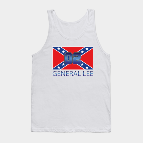 3743841e137238 General Lee Tank Tops