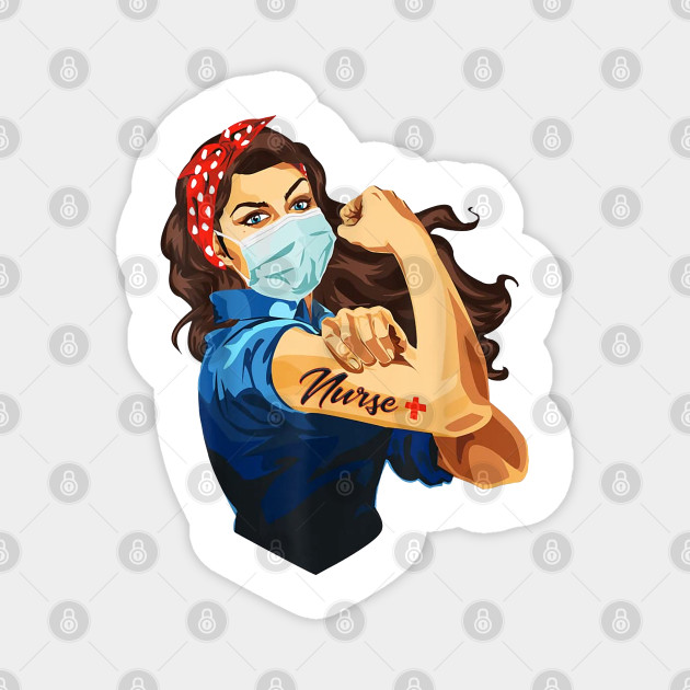Rosie The Riveter - Woman Nurse T-shirt