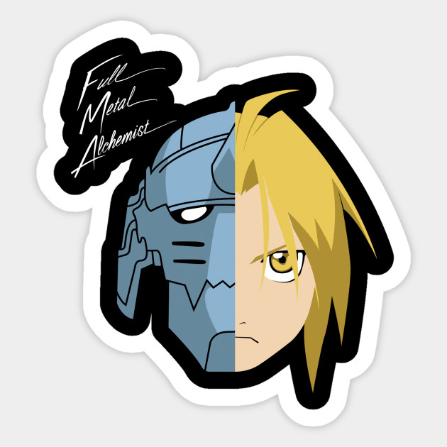 Fullmetal Alchemist - Daft Punk - Sticker | TeePublic