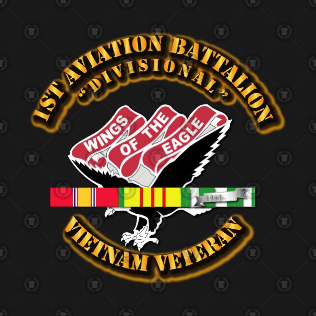 1st Aviation Battalion(Divisional) w SVC Ribbon