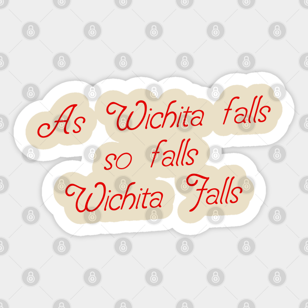 As Wichita falls so falls Wichita Falls from THE ICE HARVEST