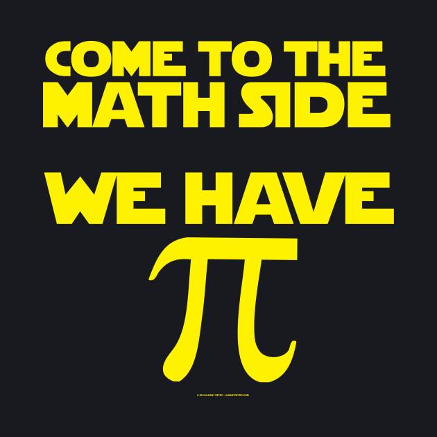 Math Side Has Pi