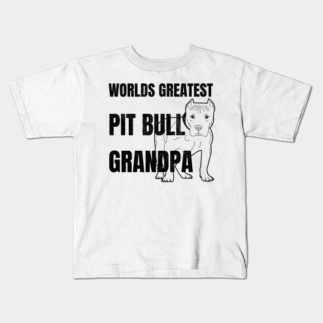 a390383114c3 Worlds Greatest Pit Bull Grandpa Shirt
