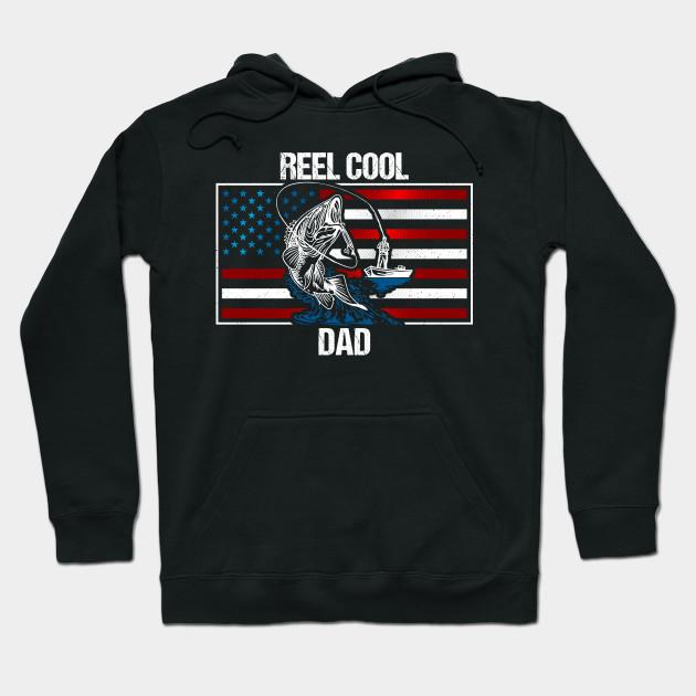 72f1aa06e Reel Cool Fishing Dad - Reel Cool Dad - Hoodie | TeePublic