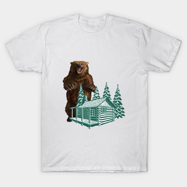 Grizzly bear t shirt the best bear 2018 bear t shirts three black bears shirt publicscrutiny Image collections