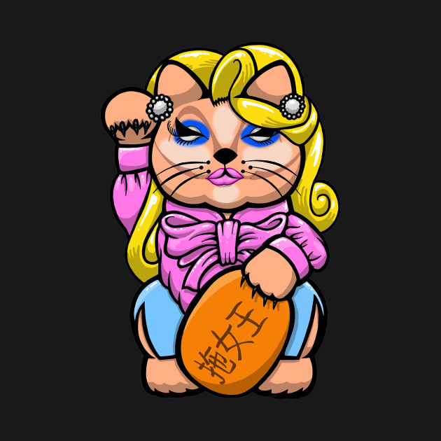 trixie Mattel lucky cat
