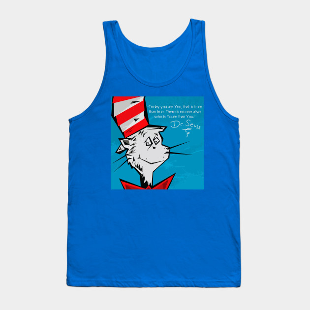 Dr Suess Cat in A Hat Tank Top
