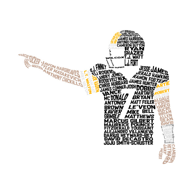 Ben Roethlisberger Steelers Team Names Design