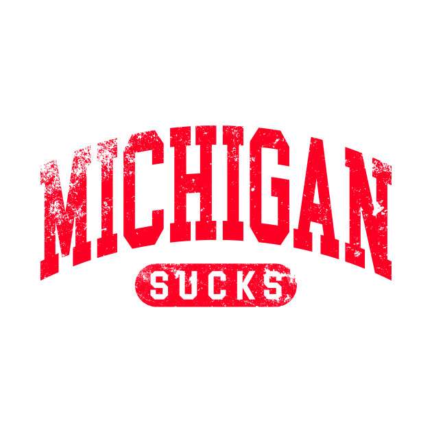 Michigan sucks rivals shirt