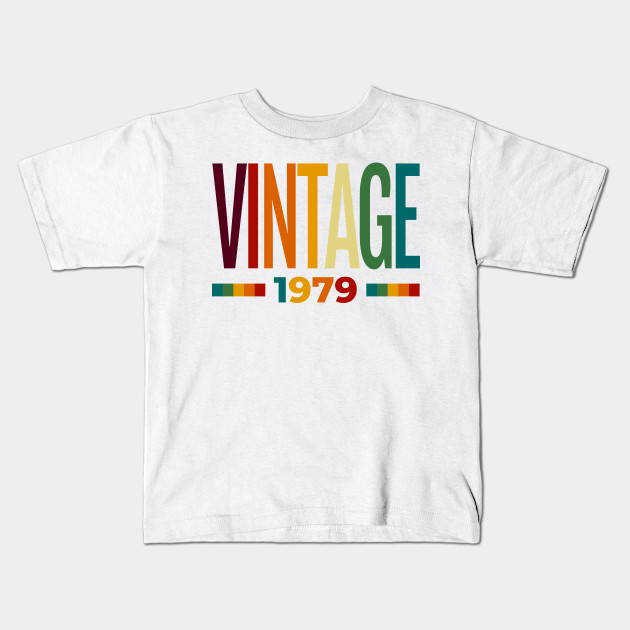 Vintage 1979 40th Birthday For Woman Or Man Kids T Shirt