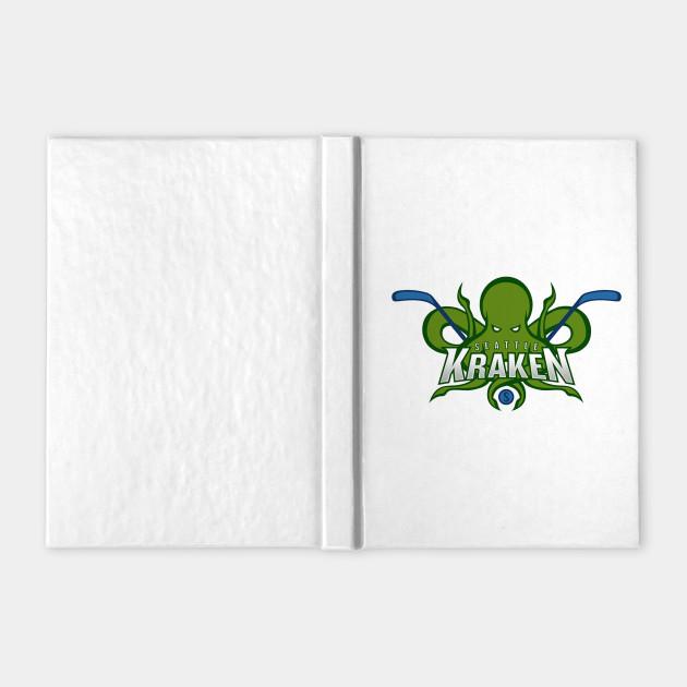 Seattle Kraken - Kraken - Notebook | TeePublic