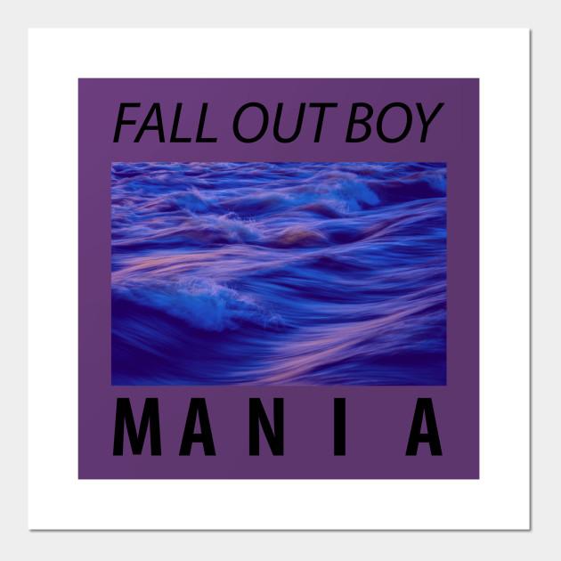 Art Print Poster Canvas Fall Out Boy Mania Album