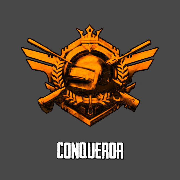 Pubg Conqueror Pubg T Shirt Teepublic