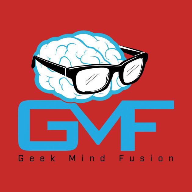 Geek Mind Fusion Logo - Vertical (Light Colors)