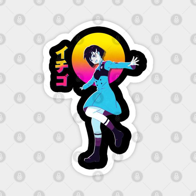 Ichigo DARLING in the FRANXX    Anime Retrowave