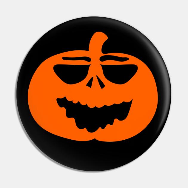 Halloween Funny Laughing Cartoon Pumpkin Face