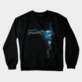 2246cd654 Circuit Boards Crewneck Sweatshirts | TeePublic