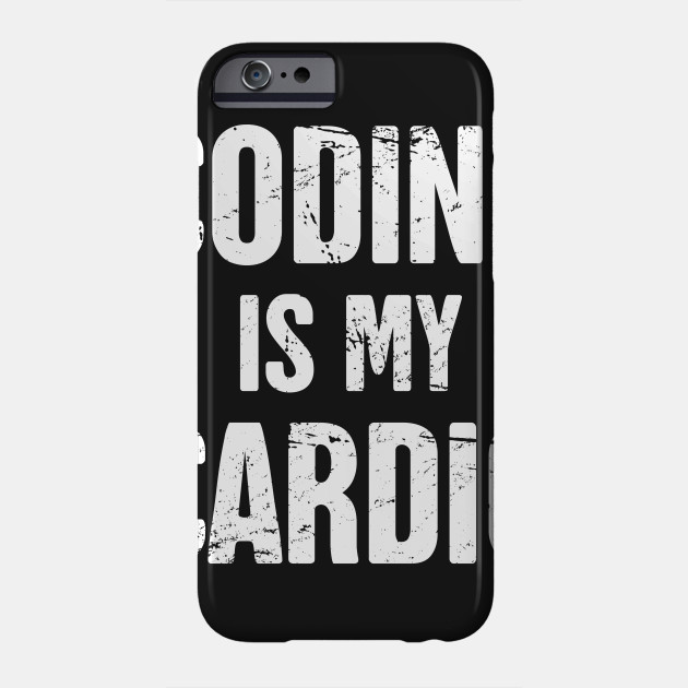 Coding Is My Cardio Funny Cs Software Developer Design Software Developer Phone Case Teepublic