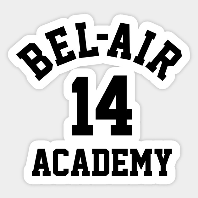 a803a6fc9bc Bel-Air Academy  14 Will Smith - Fresh Prince Of Bel Air - Sticker ...