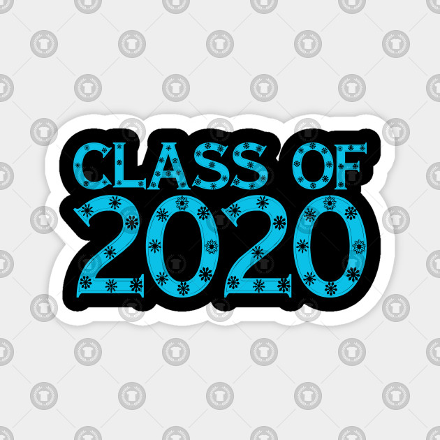 Winter 2020 Classes.Senior Class Of 2020 Graduation Winter Snow Flake