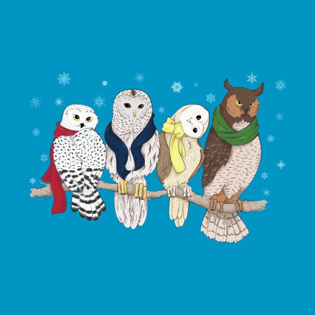 Owls in Winter