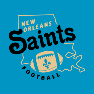 New Orleans Saints Football T-Shirt b9edbefc6