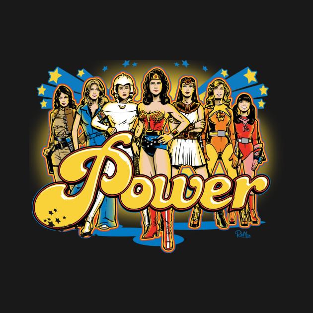 Women of 70s TV - POWER!