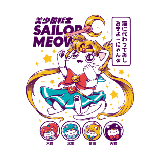 Sailor Meow t-shirts